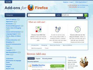 Mozilla Addons