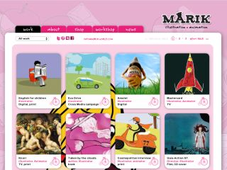 Marikworld.Ltd Creative Visuals & 2D animation