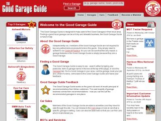 The Good Garage Guide
