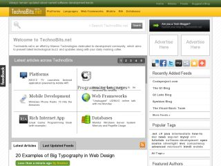 TechnoBits.net - Always remain updated with latest technological buzz