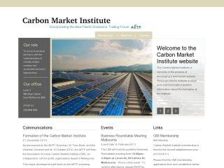Carbon Market Institute