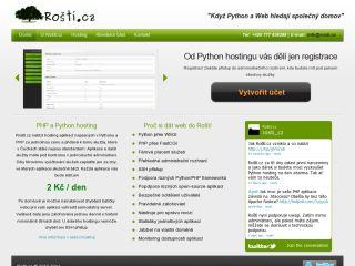 Python hosting provider Rosti.cz