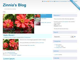 Django Blog Zinnia