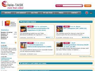 tele-TASK portal