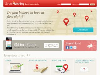 StreetMatching - Love made easier