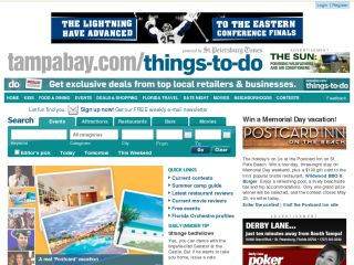 Tampabay.com Things To D