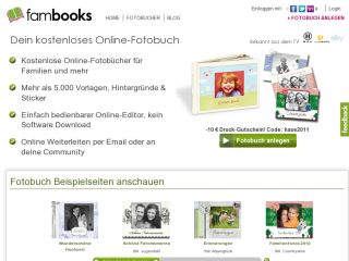FamBooks - The free online photobook