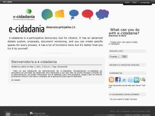 e-cidadania Demo