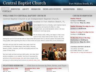 Central Baptist Chuch of Fort Walton Beach, FL