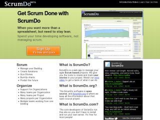 ScrumDo - Agile story planning