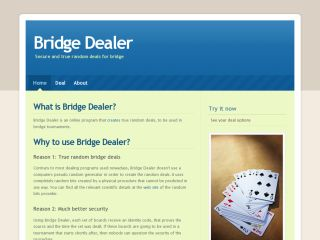 Bridge Dealer.