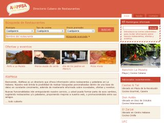 AlaMesa: Directory of Cuban Restaurants