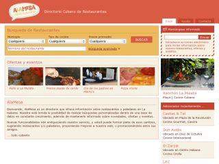 AlaMesa: Directory of Cuban Restaurants