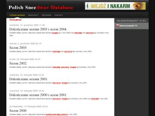 Polish Speedway Database