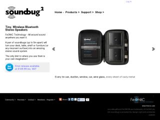 Soundbug2 Portable Wireless Speakers
