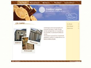 Centrolegno.net Wood Manufacturer Web Site