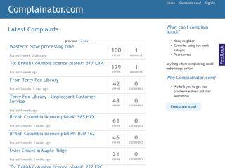 Complainator.com