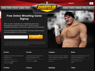 Shootclub Online Wrestling Games