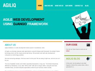 Agiliq: Django web development