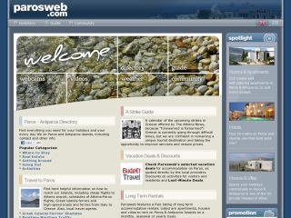 Parosweb - Directory of Paros island