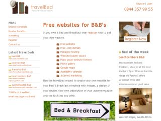travelBed - The B&B Website