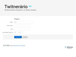 Twitnerario