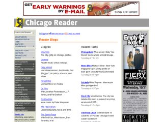 The Chicago Reader Blogs