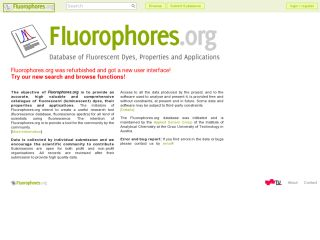 Fluorophores.org