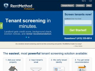 Tenant Screening - Tenant Background Check - Tenant Check | RentMethod