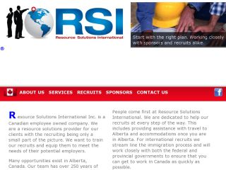 Resource Solutions International