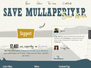 Save Mullaperiyar