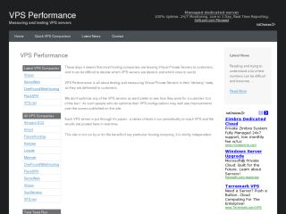 VPS Performance
