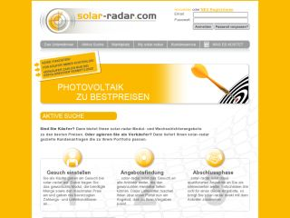 Trading of solar modules and inverters