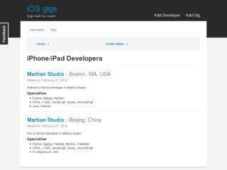iOS gigs