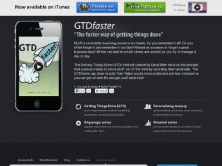 GTDfaster - The faster way of getting things done