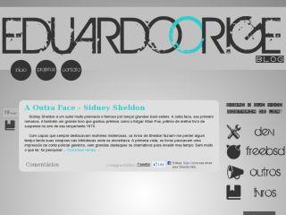Eduardo Orige Blog
