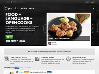 Opencooks.com