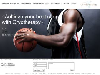Whole Body Cryotherapy - Los Angeles, CA