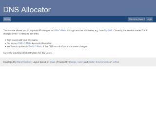 DNS Allocator