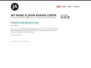 adrianceron.com