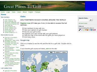 Great Places To Golf