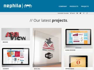 Nephila - Open source & Django web factory
