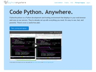 PythonAnywhere