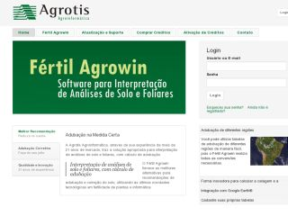 Fértil Agrowin - Software for Interpreting Soil and Foliar Analysis