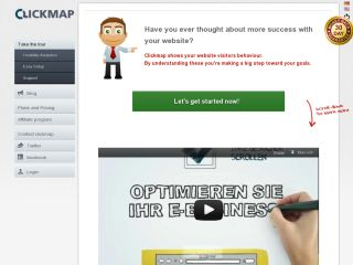 Clickmap Web Analytics