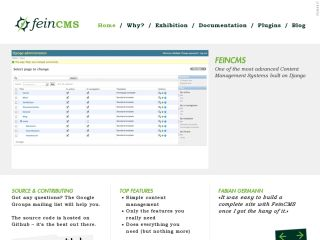 FeinCMS website