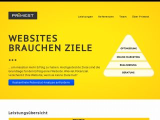 PRIMEST Media - Internetagentur