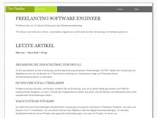 My Freelance Website