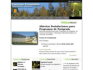 Facultad Ciencias Forestales - Universidad de Concepción