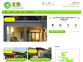 KIWI Real Estate, Phuket, Thailand